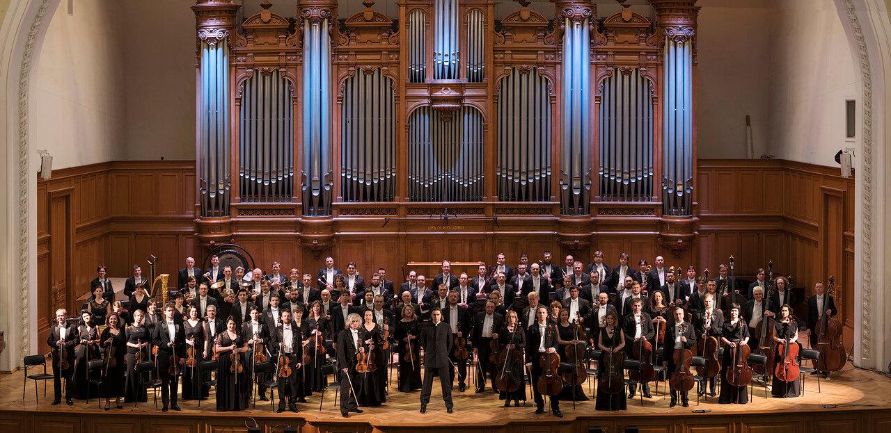Концерт Государственного академического симфонического оркестра имени Е. Ф.  Светланова
